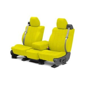 For Mg Mgb 73 80 Caltrend Neosupreme 1st Row Yellow Custom Seat Covers
