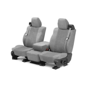 For Mg Mgb 73 80 Caltrend Supersuede 1st Row Light Gray Custom Seat Covers
