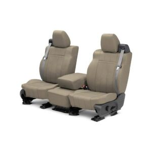 For Mg Mgb 73 80 Caltrend Mg100 06ld Leather 1st Row Beige Custom Seat Covers