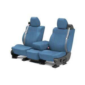 For Toyota Pickup 84 88 Caltrend Carbon Fiber 1st Row Blue Custom Seat Covers
