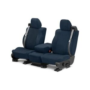 For Toyota Previa 91 93 Seat Cover O E Velour 1st Row Blue Classic Trim