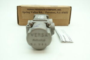 Versa Vsa 3301 316 33e Three Way Directional Control Valve 1 4in
