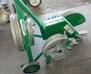 Greenlee 1818 Conduit Pipe Emt Rigid Imc Mechanical Bender W Shoes