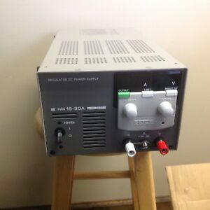 Kikusui Pan 16 30a Regulated Dc Power Supply