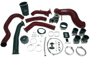 Wehrli Fab S400 Single Turbo Install Kit For 2001 2004 Lb7 Duramax Diesel