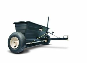 Spreader Salt Fertilizer Lawn Drop Behind Agrifab Pull Tow Garden Seed Seeder