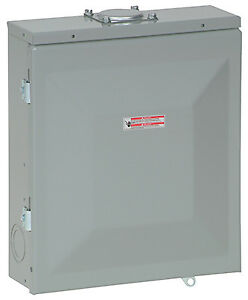 Eaton Corporation 4 space Outdoor Mount Load Center 125a Br48l125rp