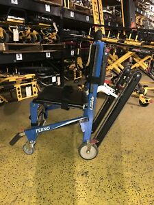Ferno Ez Glide Track Stair Chair Stairchair New Blue Mint Stryker