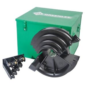 Greenlee 01700 1 2 Through 2 Pvc Shoe Group For Bender With Serial Code Abl
