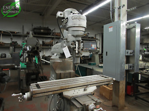 Bridgeport Milling Machine J head Vertical Milling Machine Id M 031