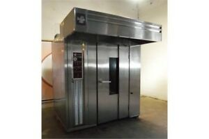 Bakers Aid Baro 2e 208v Double Rack Electric Roll In Rotator Oven 208v 3ph