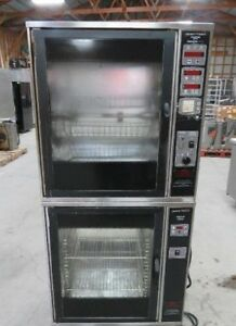 Henny Penny Scr 6 Scd 6 Double Stack Electric Rotisserie Chicken Baking Oven