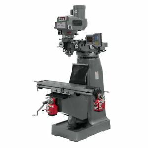 Jet 690420 Jtm 4vs Mill With Acu rite Vue Dro With X And Y axis Powerfeeds