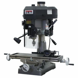 Jet 350119 Jmd 18 Mill drill With X axis Table Powerfeed
