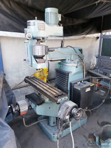 9 X 42 Used Supermax Cnc Vertical Milling Machine Ycm 30 A4990