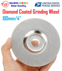 100mm 4 Diamond Coated Grinding Wheel Disc Carbide Grinder Rotary Tool