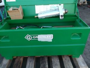 Greenlee 881ctd 2 1 2 3 4 In 1 Shot 90 Degree Bends Pump Table Avail display