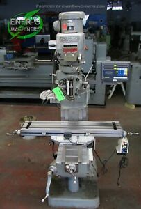 Bridgeport Series I 2hp Vertical Milling Machine Id M 042