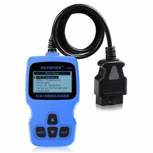 Obd2 Scanner Fault Code Reader Abs Srs Analyzer Diagnostic Tool For Vw Special