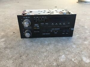 1994 1995 Cadillac Blazer Delco Am fm Cassette Eq Car Stereo Radio Leaf Knobs