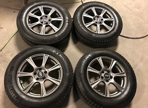 Michelin Latitude X ice Xi2 235 65 17 Complete Set Of 4 Winter Tires And Wheels