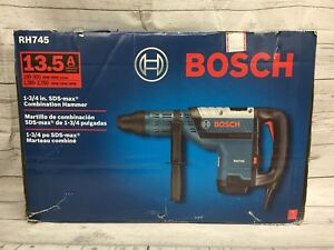 New Bosch Rh745 120v Electric Corded 13 5 A 1 3 4 Sds max Combination Hammer