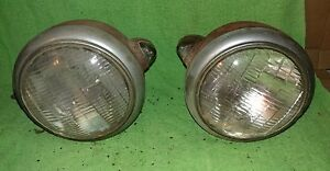 1939 Dodge Plymouth Chrysler Gm 682c Headlamps Signal Lights Ratrod Hotrod Ford