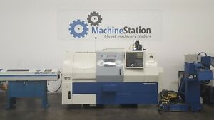 Daewoo Puma 230ms Cnc Sub Spindle Live Tool Turning Center Lathe Doosan Mori