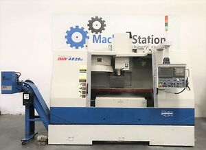 Doosan Dmv 4020d Cnc Vertical Machining Center 4020 Tsc Mill Vmc Mori Haas Daewo