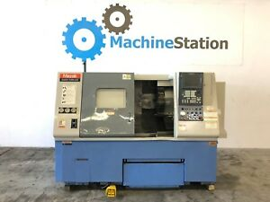 Mazak Quick Turn Qt 250 Cnc Turning Center Lathe 8 Chuck Fusion 640 Mori Sl