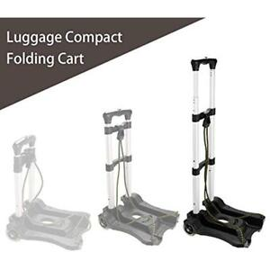 Luggage Hand Trucks Cart Folding Portable Aluminum Dolly With Wheels us Stock