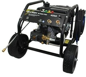 4500 Psi Pressure Washer Cleaner Hydro Pro Commercial 4 Gpm Steel Frame