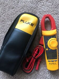 Fluke 337 1000a True Rms Ac dc Current Clamp Meter used Excellent Condition