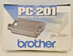 Brother Black Printer Fax Printing Cartridge Mfc 1770 Mfc 1870mc 1970mc Pc 201
