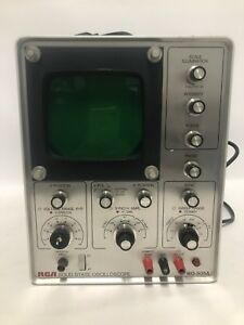 Rca Wo 505a Solid State Oscilloscope Classic Vintage Piece Powers On