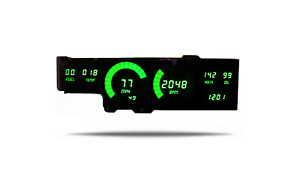 1978 1988 Oldsmobile Cutlass Digital Dash Panel Green Led Gauges Made In The Usa