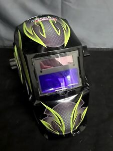 Lincoln Electric Welding Helmet Auto darkening Variable Shade Len galaxis Design
