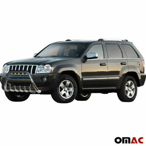 Bull Bar Front Bumper Protection Guard Steel For Jeep Grand Cherokee 2005 2010