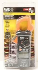 New Klein Tools Cl700 600 amp Ac Auto Ranging Digital Clamp Meter