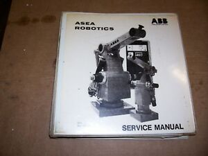 Asea Robotics Irb 6 2 L6 2 Service Manual Circuit Diagrams