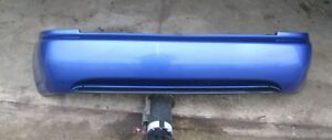 93 97 Honda Civic Del Sol Rear Back Bumper Cover Blue Oem Factory Jdm 94 95 96