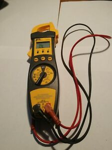 Ideal 61 701 Voltage Clamp Meter 200 Amp Cat Iii 600 Volts Max