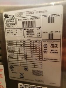 Taylor C723 33 3 Phase Water Cooled Soft Serve Ice Cream Machine