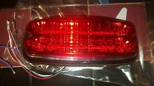Whelen M7r 12vdc Linear Super led Light red Lens new