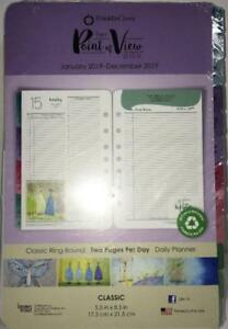 Franklin Covey Daily Planner Refills Her Point Of View 2019 2 Pages day 68651