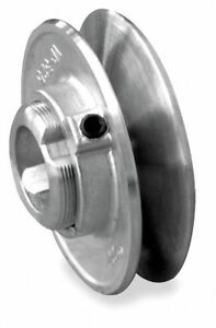 Congress 1 2 Fixed Bore Variable Pitch V belt Pulley For V belt Section 4l