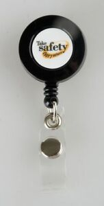 Quality Resource Group Badge Holder Take Safety Everywhere Pk10 Plastic