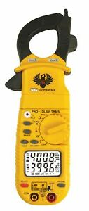 Uei Test Instruments Clamp Meter Includes Test Leads Zippered Case K Type