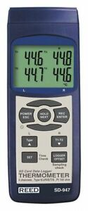 4 input Type E Type J Type K Type R Type S Type T Thermocouple Thermometer