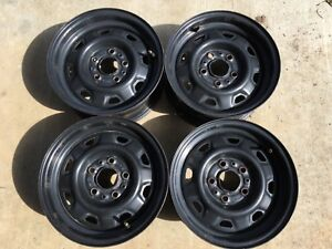 1984 1994 Ford Ranger 1990 1997 Aerostar 14x6 Inch Steel Wheels Set Of 4 Oem